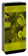 Mickey In Yellow Portable Battery Charger
