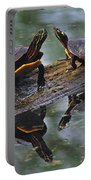 Midland Painted Turtles Portable Battery Charger