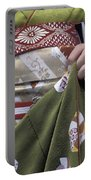 Midsection Of Apprentice Geisha - Maiko Portable Battery Charger