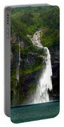 Milford Sound Waterfall Portable Battery Charger