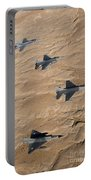 Military Fighter Jets Fly In Formation Portable Battery Charger