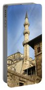 Minaret Of The Blue Mosque Portable Battery Charger