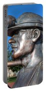 Miner Statue Portable Battery Charger