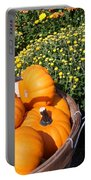 Mini Pumpkins Portable Battery Charger by Kimberly Perry