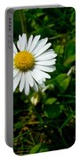 Miniature Daisy In The Grass Portable Battery Charger