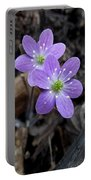 Minnesota Spring Wildflower Portable Battery Charger