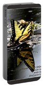 Missing You - Butterfly Portable Battery Charger