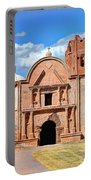 Mission At Tumacacori Portable Battery Charger