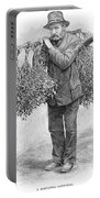 Mistletoe Gatherer, 1894 Portable Battery Charger