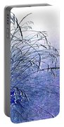 Misty Blue Portable Battery Charger