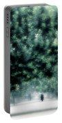 Misty Parisian Park 2 Portable Battery Charger