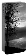 Misty Reflections Bw Portable Battery Charger