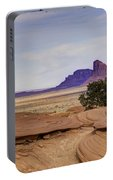 Mitchell Butte From Mystery Valley Portable Battery Charger