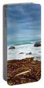 Moeraki Boulder East Coast Of South New Zealand Portable Battery Charger