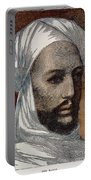 Mohammed Ahmed, Mahdi /n(1843?-1885): Wood Engraving, 1884 Portable Battery Charger