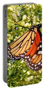 Monarch An Wildflowers Portable Battery Charger