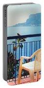 Mondello Bay Sicily Portable Battery Charger