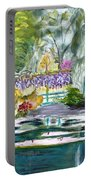 Monet's Jardin De L'eau Portable Battery Charger