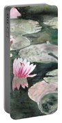 Monet's Lily Pads Portable Battery Charger