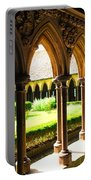 Mont Saint Michel Cloister Portable Battery Charger