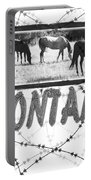 Montana Horse Design Portable Battery Charger