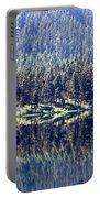 Montana Lake Reflection Portable Battery Charger