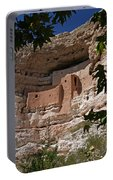 Montezuma Castle Cliff Dwellings In The Verde Valley Of Arizona Portable Battery Charger