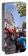 Montmartre Artist Colony Portable Battery Charger