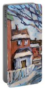 Montreal Scene 03 By Prankearts Portable Battery Charger
