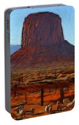 Monument Valley 2 Pastel Portable Battery Charger