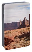 Monument Valley Totem Pole Portable Battery Charger