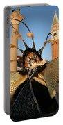 Moon Goddess At Tower Portable Battery Charger