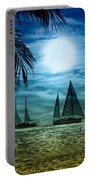 Moonlight Sail - Key West Portable Battery Charger