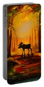 Moose Sunset Portable Battery Charger