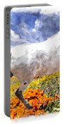 Morisco In Spring Flowers Portable Battery Charger