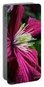 Morning Clematis Portable Battery Charger