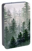 Morning In The Mountains Portable Battery Charger