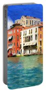 Morning In Venice Portable Battery Charger