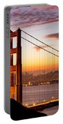 Morning Over San Francisco Portable Battery Charger