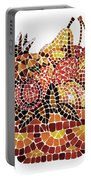 Mosaic Fruits Portable Battery Charger