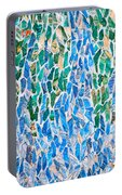 Mosaic Pattern Portable Battery Charger