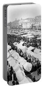 Moscow Russia - The Great Sunday Market - C 1898 Portable Battery Charger
