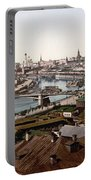 Moscow Russia On The Moskva River - Ca 1900 Portable Battery Charger