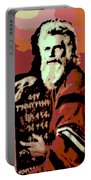 Moses And The 10 Commandments Portable Battery Charger