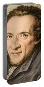 Moses Mendelssohn, German Philosopher Portable Battery Charger