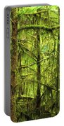 Moss-covered Trees Portable Battery Charger