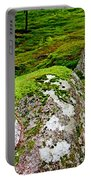 Mossy Rock Garden Portable Battery Charger