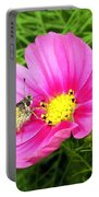 Moth On A Cosmos Portable Battery Charger