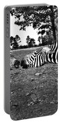 Mother And Child-black And White Portable Battery Charger