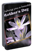 Mothers Day Wish Portable Battery Charger